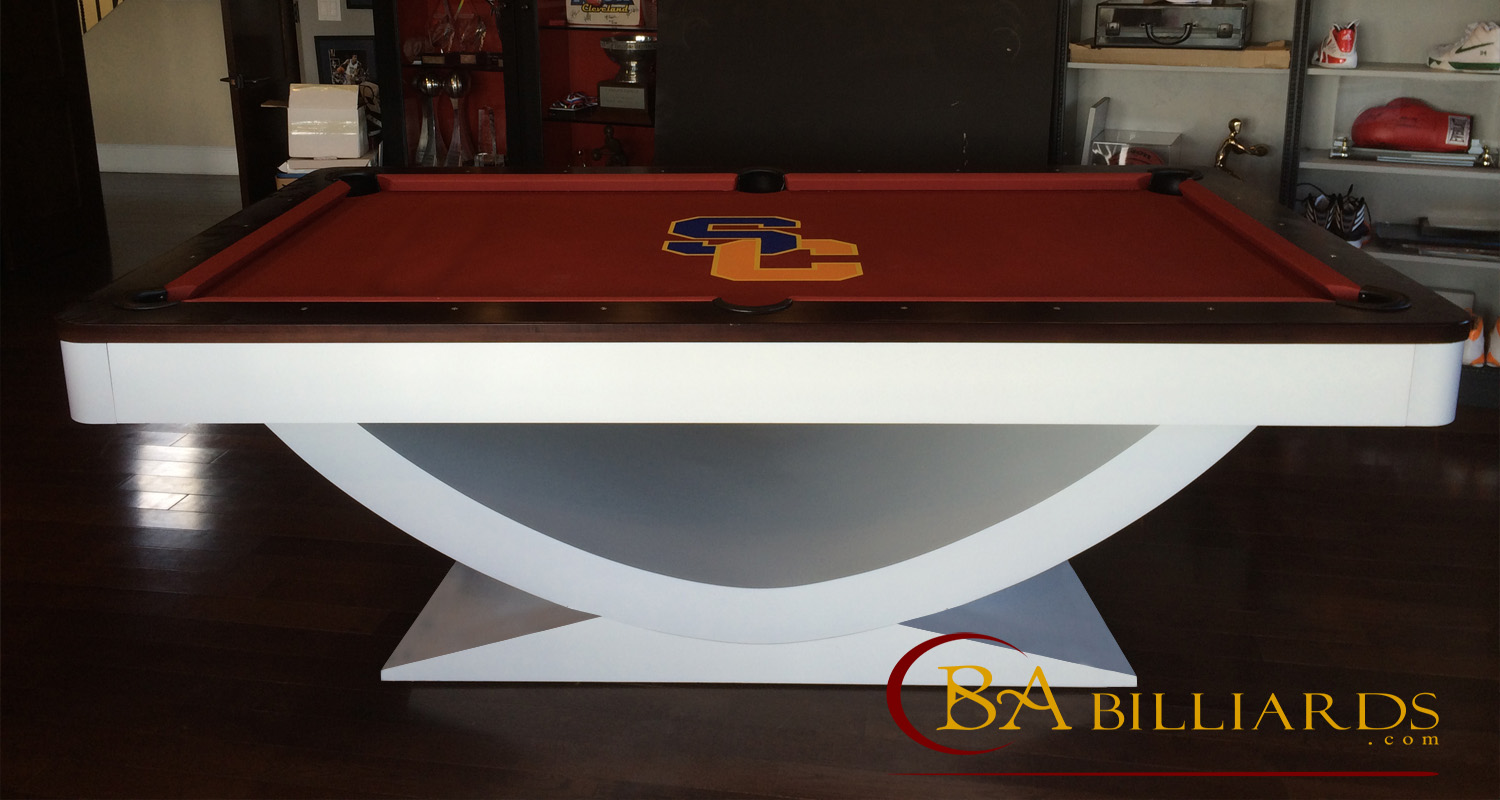Olympus pool table www.babilliards.com