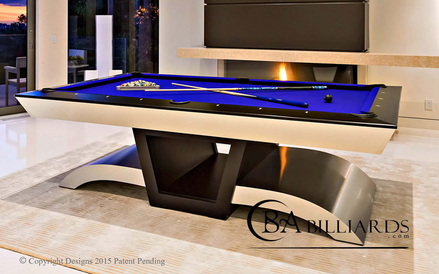 CONTEMPORARY MODERN POOL TABLES